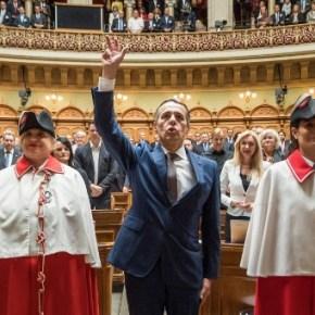 Ignazio Cassis chosen as Switzerland's new cabinetminister
